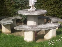 11pieces Stone Patio Set in Ramstein, Germany