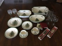 Spode Christmas Tree Collection in Plainfield, Illinois