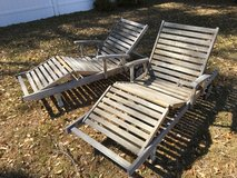 Eucalyptus Outdoor Lounge Chairs in Beaufort, South Carolina