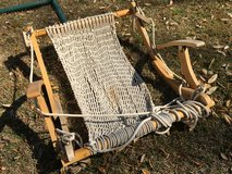 Rope, Brass, Wood Hammock Chair in Beaufort, South Carolina