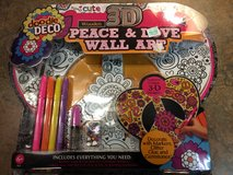 Peace & Love wall art - brand new in package in Schaumburg, Illinois