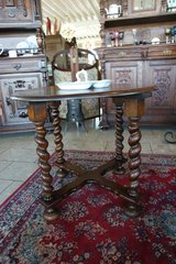 elegant coffee table with barley twist stand in Spangdahlem, Germany