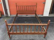 Vintage Maple Spool Bed in Cherry Point, North Carolina
