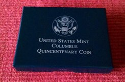 1992S Christopher Columbus Quincentenary Proof Half Dollar in Fort Leonard Wood, Missouri