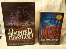 Lot of 2 Haunted America Books in Fort Benning, Georgia