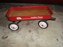 1960's Vintage RADIO FLYER 90 Wagon 34 x 15 x 4 Red  PICKUP JUSTICE ILLINOIS in Chicago, Illinois