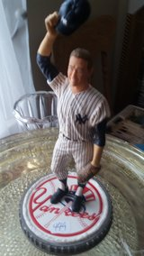 Mickey Mantle baseball statue in Fort Campbell, Kentucky