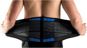 Brand new Secure Double-Pull Neoprene Lumbar Support Belt, X-Large (38-42''/96-106cm) in Chicago, Illinois
