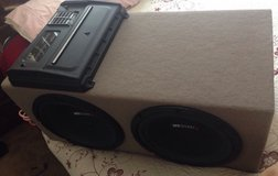 """12"""" MB Quart Subwoofers w/cables in Camp Pendleton, California"""