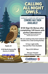 CoWorx is Hiring!! in Naperville, Illinois
