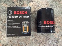 Bosch premium oil filter 3323 in Bolingbrook, Illinois