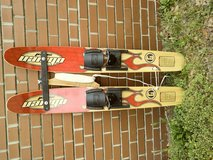 O'Brien Scout training water skis in Wilmington, North Carolina