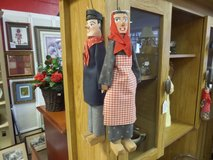 Old Hanging dolls in Cherry Point, North Carolina