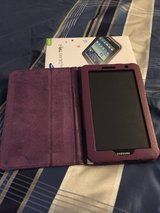 Samsung Tablet tab 2 with case in Cherry Point, North Carolina