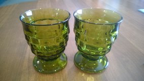 2 Green Whitehall 8oz Tumblers in Clarksville, Tennessee