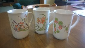 3 Nature's Gold Ceramic Mugs in Clarksville, Tennessee