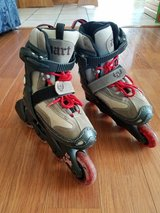 Kids Size 10-13 Adjustable Roller Blades in Glendale Heights, Illinois