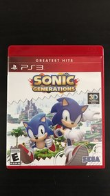 Brand New PS3 Sonic Generations in Naperville, Illinois