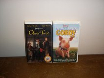 2 Walt Disney VHS Movies in Fort Campbell, Kentucky