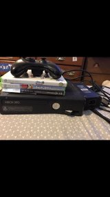 xbox 360 with games in Naperville, Illinois