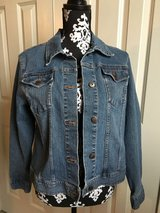 Women's LARGE Stretch Denim Jean Jacket in Naperville, Illinois