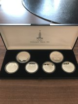 Olympiad Moscow 1980 Coin Set in Fort Riley, Kansas