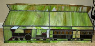 Stained Glass Train Light Fixture-Great for game room or over a pool table! in Warner Robins, Georgia
