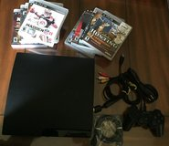 Ps3 120 GB+10 games. in Naperville, Illinois