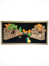 Large Vintage / Retro Velvet Lighted Wall Painting in Tinley Park, Illinois
