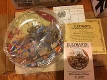 Reduced: Elephants The Wonder of the Circus Plate in Naperville, Illinois