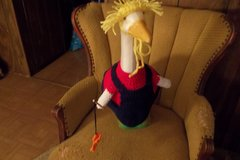 Fisherman Geese Goose Outfit Dress Crochet in Belleville, Illinois
