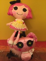 Lalaloopsy plush doll 10'' with pet in Plainfield, Illinois