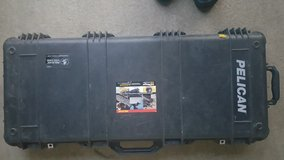 Pelican™ 1700 Long Gun Travel Weapons Case with Solid Foam - Black in Fort Benning, Georgia