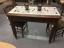 "Gaming table 1 draw on weels 29"" deep 42 in long 31"" tall in Spring, Texas"