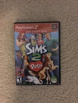 The Sims 2 Pets PlayStation 2 Greatest Hits Game in Camp Lejeune, North Carolina