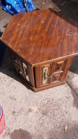 End table in Fort Riley, Kansas