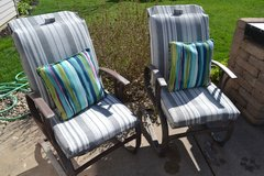 Patio Chairs Outdoor Lawn Furniture Pair Set in Naperville, Illinois