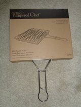 NEW in sealed box Pampered chef Handled BBQ basket in Camp Lejeune, North Carolina