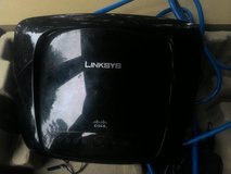 Linksys cisco wifi router in Fort Polk, Louisiana