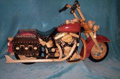 Half Scale Wooden Motorcycle in Fort Polk, Louisiana