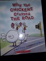 Why the Chickens Crossed the Road, Big Egg, The Three Billy Goat Gruff, and Lunch Bunnies books in Camp Lejeune, North Carolina