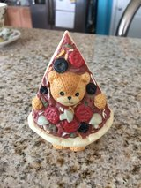 Reduced: Lucy & Me Enseco Pizza Teddy Bear in Chicago, Illinois