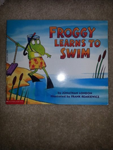 Froggy Learns To Swim, Let's Go Froggy, Froggy's Sleepover, Froggy Goes to Bed books in Camp Lejeune, North Carolina