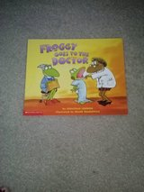 Froggy Goes To The Doctor and Let's Go Froggy! books in Camp Lejeune, North Carolina