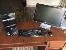 *MUST SELL* Used HP Pavilion Desktop Computer Bundle- ALL WORKING EXCELLENTLY in Wilmington, North Carolina