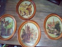 VINTAGE WOOD FRAMED PICTURES in Travis AFB, California