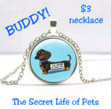 THE SECRET LIFE OF PETS Buddy Necklace in Fort Benning, Georgia