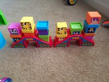 Stacking toy**zoo theme in Fort Riley, Kansas