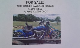 2008 Harley Davidson Rocker in Fort Polk, Louisiana