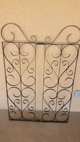 3 WROUGHT IRON PANELS in 29 Palms, California